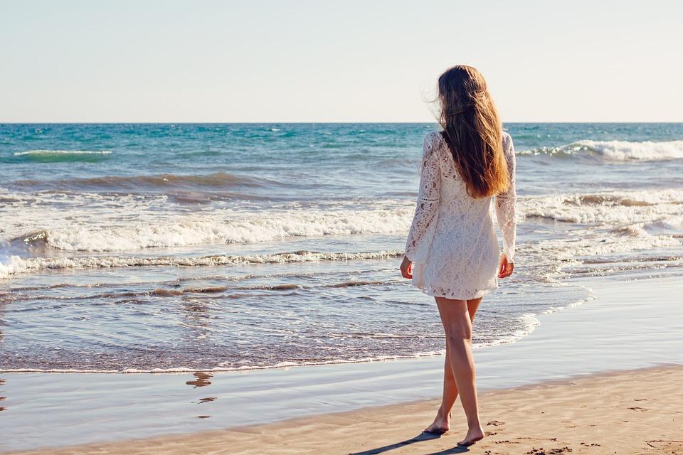 moglie scopata al mare